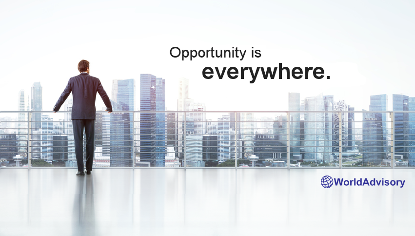 World Advisory - Opportunity is everywhere.